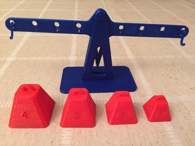 Lever principle and Equilibrium 3D Print 179922