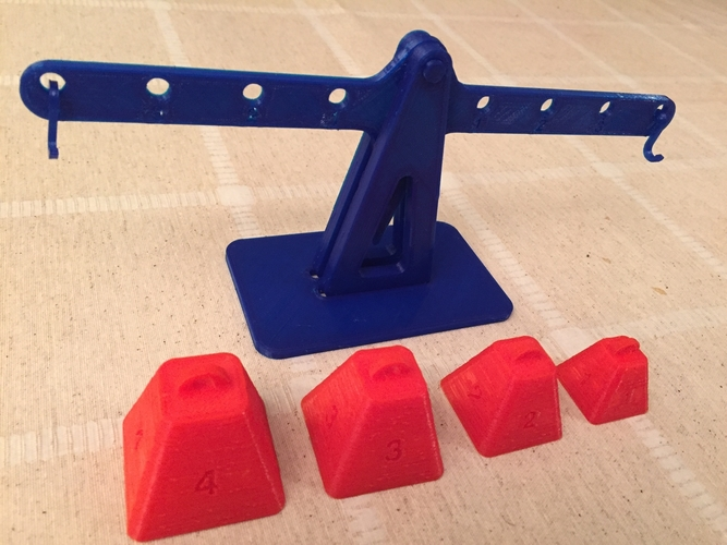Lever principle and Equilibrium 3D Print 179923