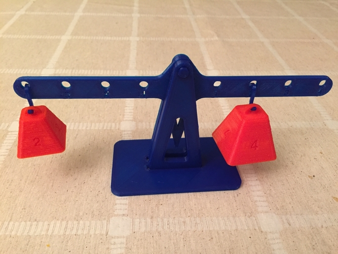 Lever principle and Equilibrium 3D Print 179924