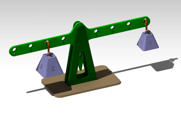 Lever principle and Equilibrium 3D Print 179930
