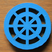 Small Drain Cover 3D Printing 179989