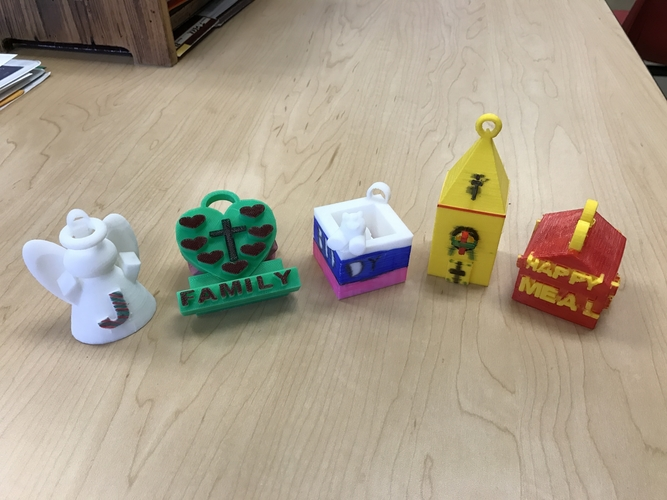 Ornaments And 3D Printers - Teaching Diversity 3D Print 179997