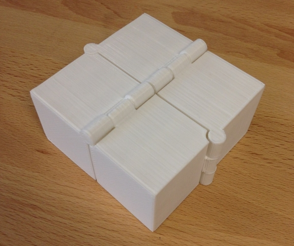 Four Hinged Boxes 3D Print 180017