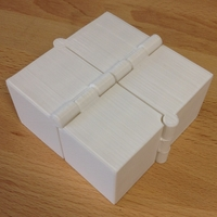 Small Four Hinged Boxes 3D Printing 180017