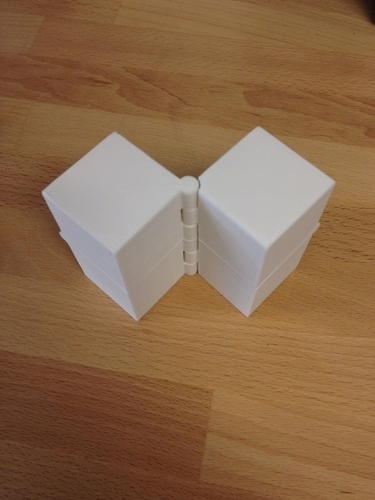 Four Hinged Boxes 3D Print 180019