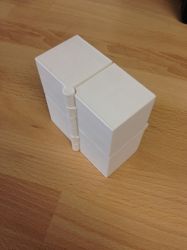 Four Hinged Boxes 3D Print 180020