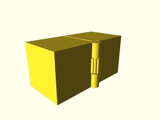 Two Hinged Boxes 3D Print 180024