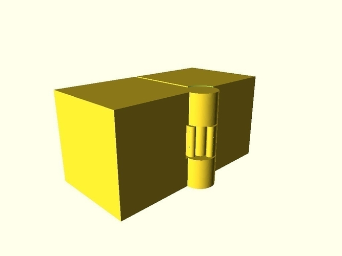 Two Hinged Boxes 3D Print 180025