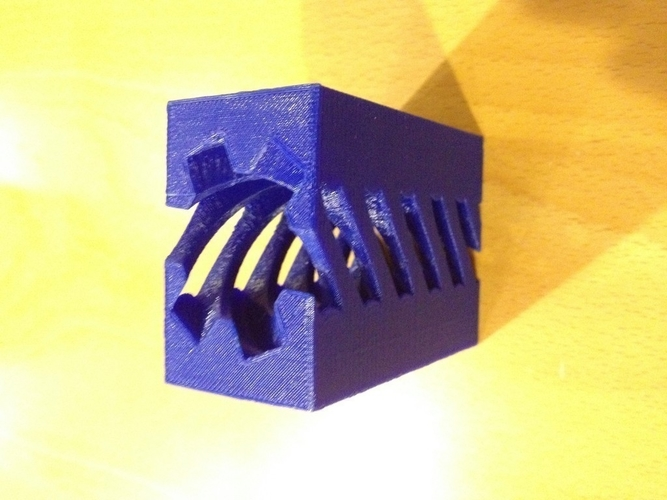 Screw and Holey Box 3D Print 180040