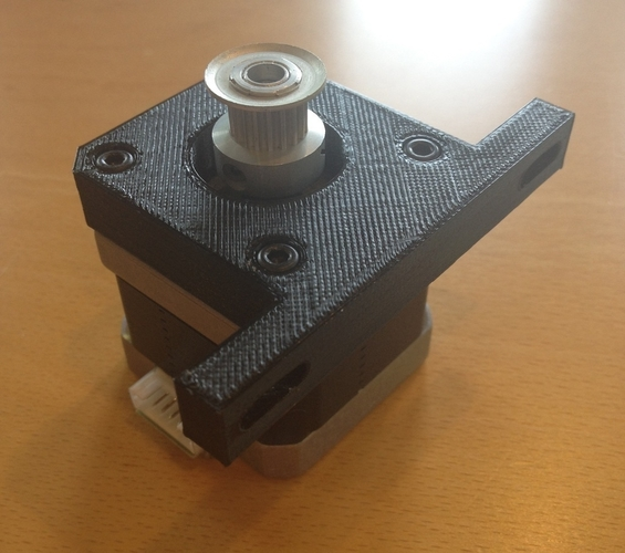 Makerbot Y-Axis Motor Holder 3D Print 180044