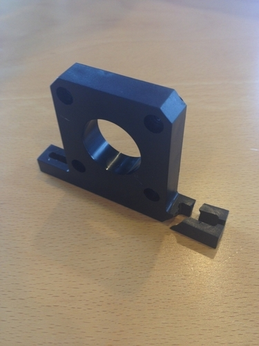 Makerbot Y-Axis Motor Holder 3D Print 180049