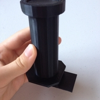 "Small 1.5"" Diameter Hole Filament Holder 3D Printing 180065"
