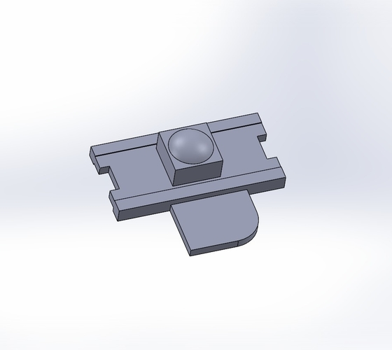 Gameboy (DMG) Power Switch Slider 3D Print 180091