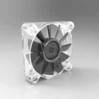 Small 40mm Electronics Fan 3D Printing 180092