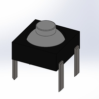 Small Soft Touch Tactile Switch - Stock 3D Printing 180093