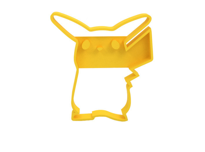 Cookie cutter - Pikachu 3D Print 180117