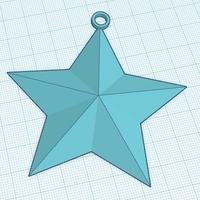Small Christmas Star 3D Printing 180126