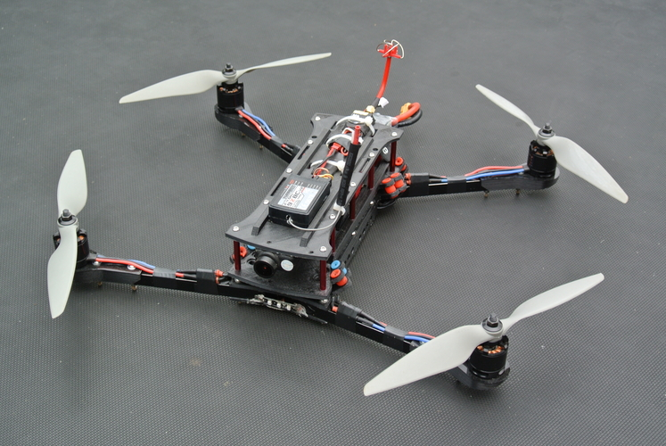 picture relating to 3d Printable Drone known as 3d posted drone