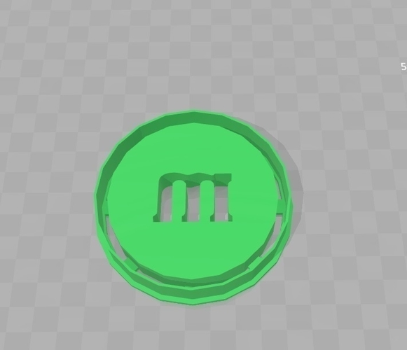 Cookie Cutter - M and M Chocolate 3D Print 180285
