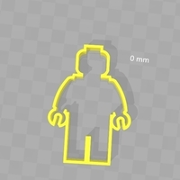 Small Cookie Cutter - Legoman  3D Printing 180286