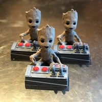 Small Baby Groot Bomb Remote Remix 3D Printing 180538