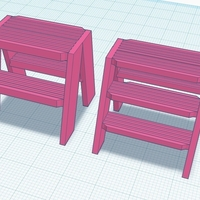 Small Step stool 3D Printing 180549