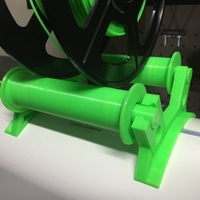 Small Robo 3D top mounted spool roller 3D Printing 180550