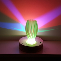 Small Wave Carved lamp 3D Printing 180654