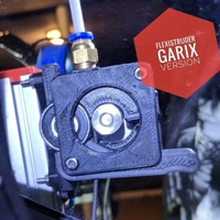 Small FlexiStruder - GARIX version for Mk7 drive gear 3D Printing 180787