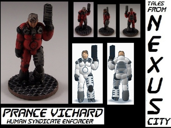 PranceVichard Human Syndicate Enforcer 3D Print 1808
