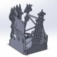 Small Pen Holder 3D Printing 18086