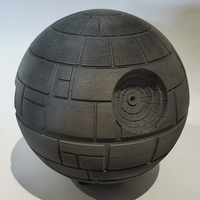 Small Starwars Deathstar raspberry Pi 3 case 3D Printing 180867