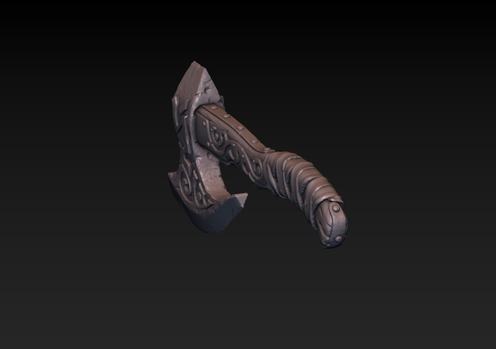 Battle Axe 3D Print 180874