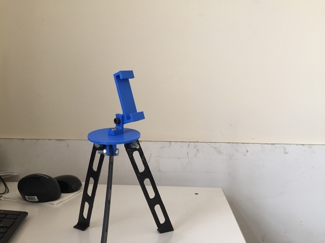 Tripod for iphone and go pro 3D Print 180916