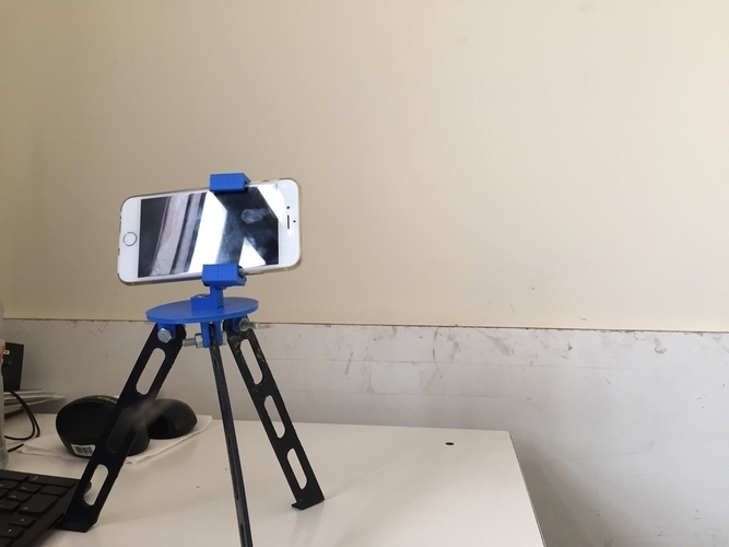 Tripod for iphone and go pro 3D Print 180918