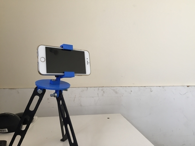 Tripod for iphone and go pro 3D Print 180919