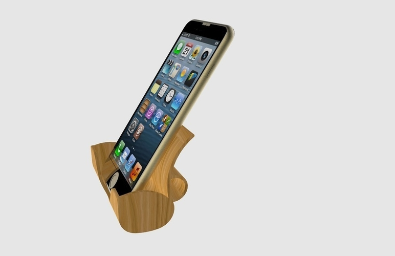 Iphone Docking Station 3D Print 180946