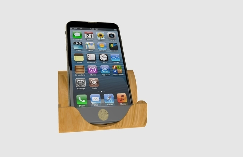 Iphone Docking Station 3D Print 180947