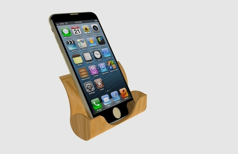 Iphone Docking Station 3D Print 180948