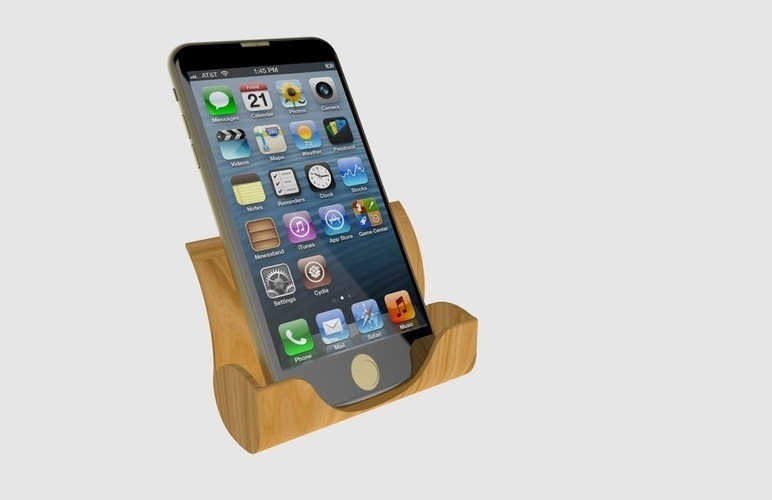 Iphone Docking Station 3D Print 180949