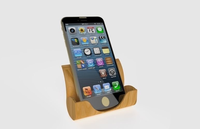 Iphone Docking Station 3D Print 180950