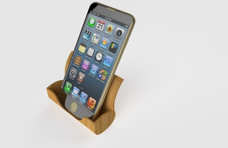 Iphone Docking Station 3D Print 180951