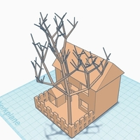 Small House Model 3D Printing 180967