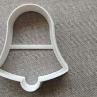 Small bell cookie cutter 3D Printing 181126