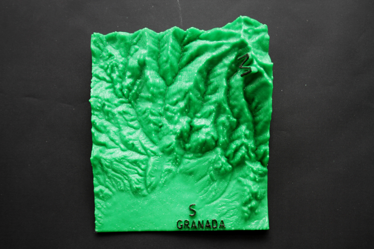 Ultra Sierra Nevada, Running mountain 3D Print 181192