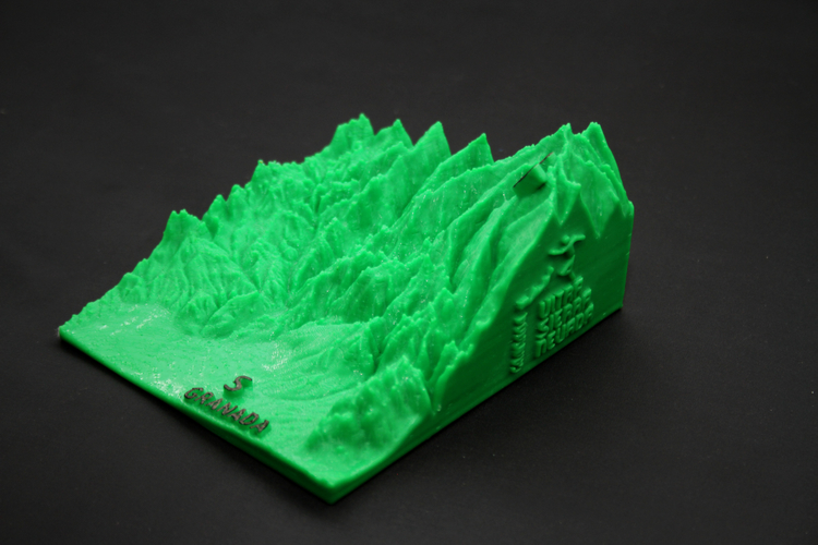 Ultra Sierra Nevada, Running mountain 3D Print 181193