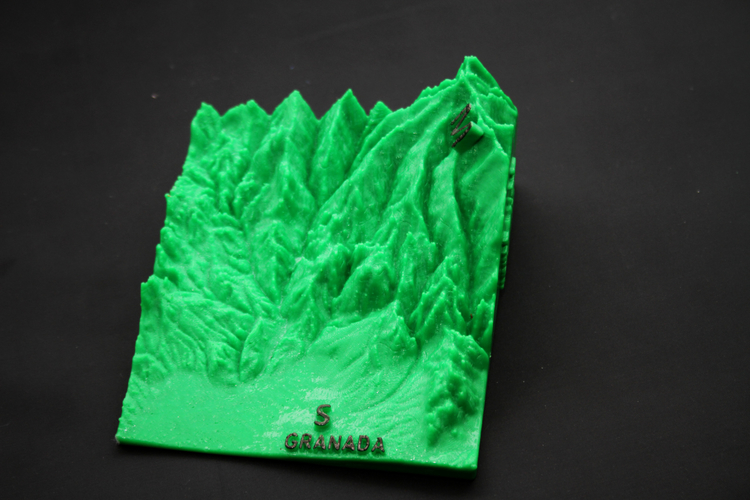 Ultra Sierra Nevada, Running mountain 3D Print 181194