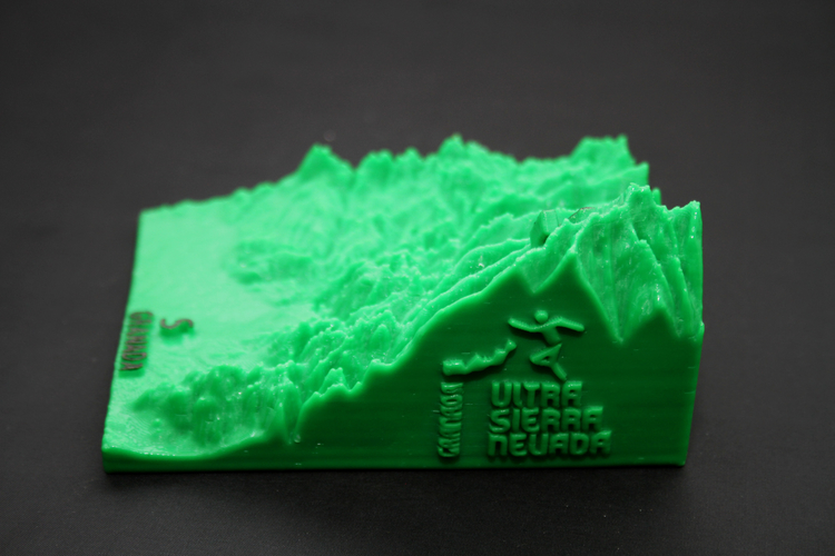 Ultra Sierra Nevada, Running mountain 3D Print 181195