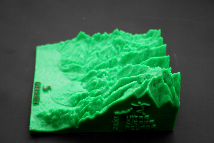 Ultra Sierra Nevada, Running mountain 3D Print 181196