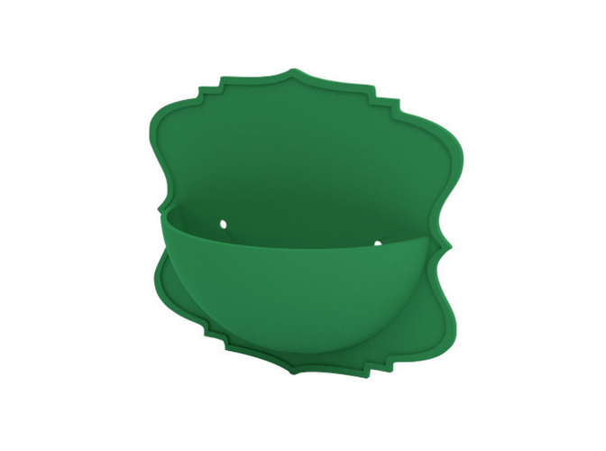 Wall flower pot 3D Print 181264
